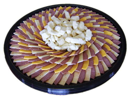 50/50 Cheese Sausage Tray