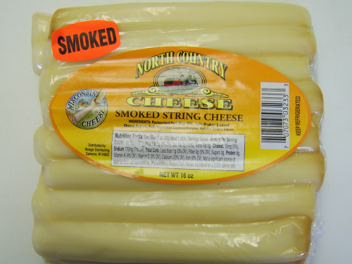 String Cheese Smoked 1# (N Country)