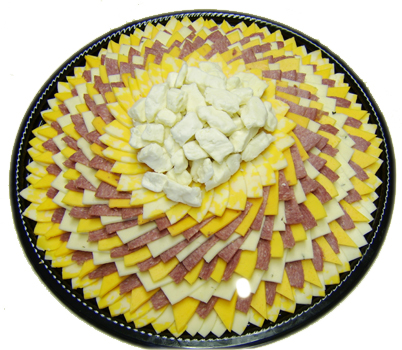 12 Inch Cheese Sausage Tray
