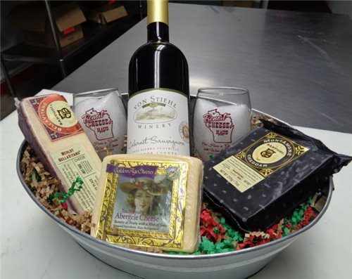 Cheesy Wine Lover Gift *Does Not Ship*