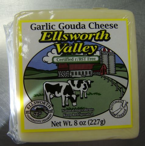 Ellsworth Valley Garlic Gouda