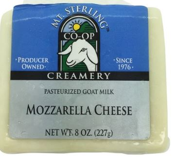 Goat Mozzarella 8 oz (Mt. Sterling)