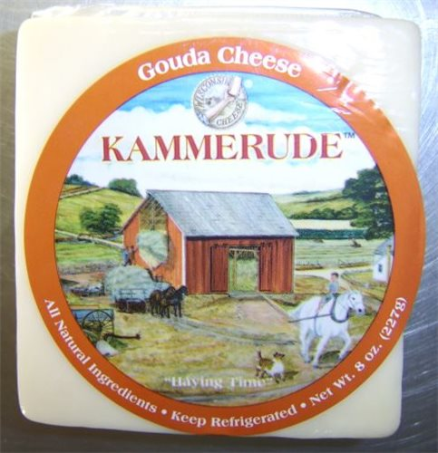 Plain Gouda .5#  (Kammerude by Blasers)